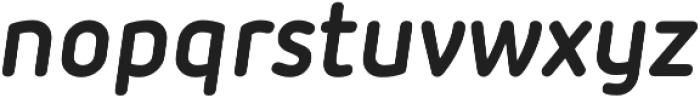 Iconic otf (700) Font LOWERCASE