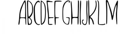 Icedream Font UPPERCASE