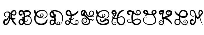 Icarus Kharma Font UPPERCASE