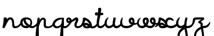 Icarus Kharma Font LOWERCASE