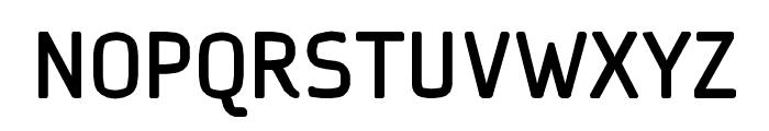 Ice Sans Bold Font UPPERCASE