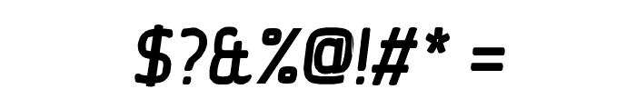 Ice Sans BoldItalic Font OTHER CHARS