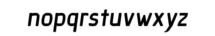 Ice Sans BoldItalic Font LOWERCASE
