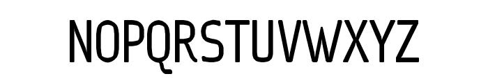 Ice Sans Compressed Regular Font UPPERCASE