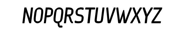 Ice Sans Compresseed BoldItalic Font UPPERCASE