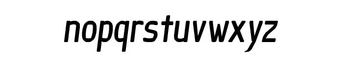 Ice Sans Compresseed BoldItalic Font LOWERCASE