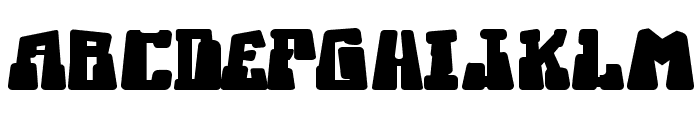 Ice Station Awesome Font UPPERCASE