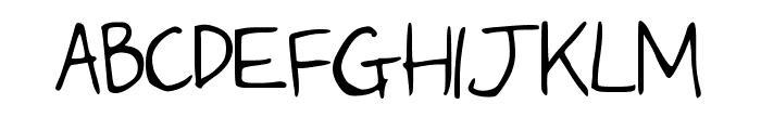 IceCream Medium Font UPPERCASE