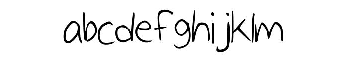 IceCream Medium Font LOWERCASE