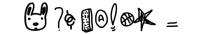 IceCreamSandwich Font OTHER CHARS