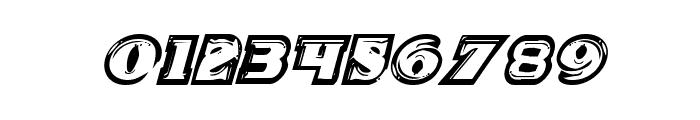 Icebox Art Italic Font OTHER CHARS