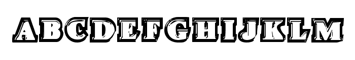 Icebox Art Regular Font UPPERCASE