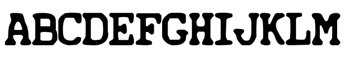 Iconified Font UPPERCASE