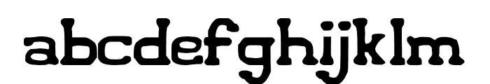Iconified Font LOWERCASE