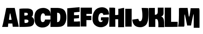 iCiel Crocante Font LOWERCASE