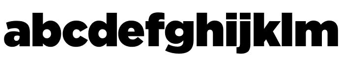 iCiel Gotham Ultra Font LOWERCASE