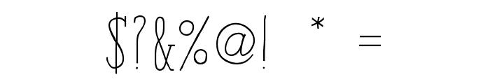 iCiel Paris Serif Bold Font OTHER CHARS