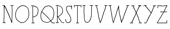 iCiel Paris Serif Bold Font LOWERCASE