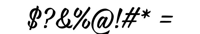 iCiel Rukola Font OTHER CHARS