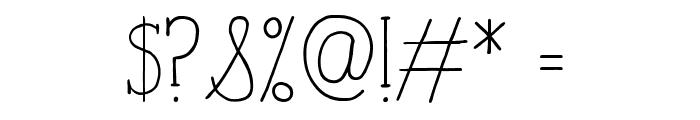 iCiel TALUHLA Font OTHER CHARS