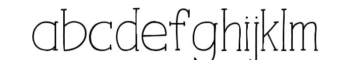 iCiel TALUHLA Font LOWERCASE