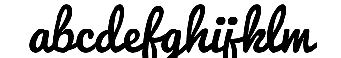 iCielPacifico Font LOWERCASE