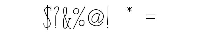 iCielParisSerif-Bold Font OTHER CHARS