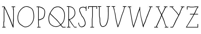 iCielParisSerif-Bold Font LOWERCASE