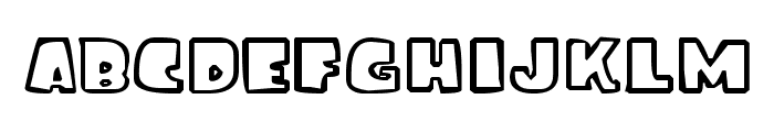 ice age font Font LOWERCASE