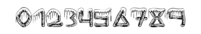 ice-sticks Font OTHER CHARS