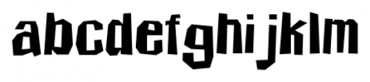 Icicle Country Two Regular Font LOWERCASE