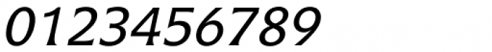 Icone Std 56 Italic Font OTHER CHARS