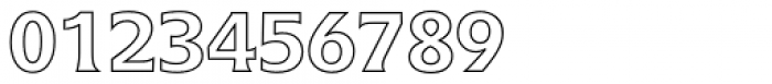 Icone Std 65 Bold Outline Font OTHER CHARS