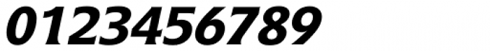 Icone Std 66 Bold Italic Font OTHER CHARS