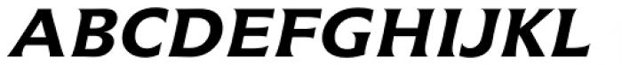 Icone Std 66 Bold Italic Font UPPERCASE