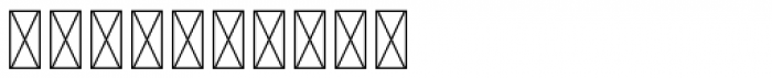 Iconics One Font OTHER CHARS