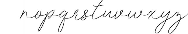 Idana Luisa Script Font LOWERCASE