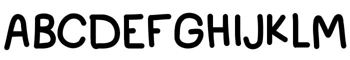 IdWriteItAll Font UPPERCASE