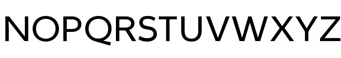 IdealistSans Font UPPERCASE
