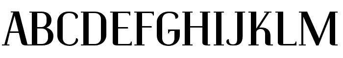 Identica Font UPPERCASE