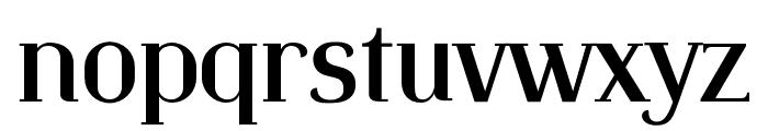 Identica Font LOWERCASE