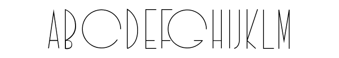 Idilica Font LOWERCASE