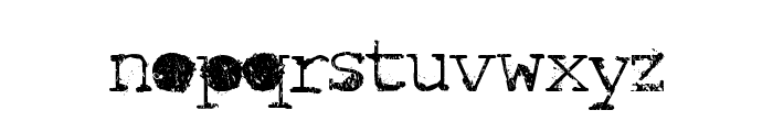 Idiot Font LOWERCASE