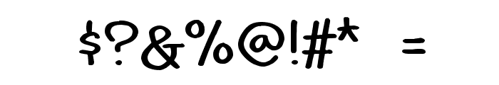 Idolwild Font OTHER CHARS
