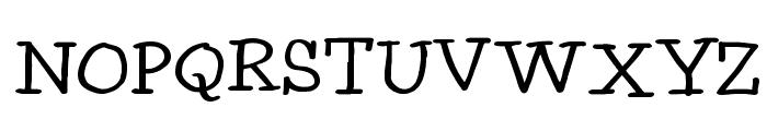 Idolwild Font UPPERCASE
