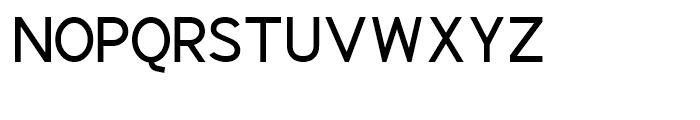 Identikal Sans Regular Font UPPERCASE