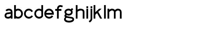 Identikal Sans Regular Font LOWERCASE