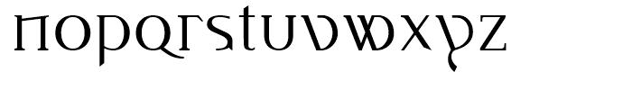Idiosynoptium Regular Font LOWERCASE