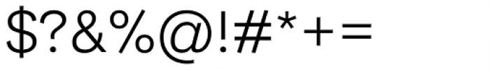 Ida Light Font OTHER CHARS