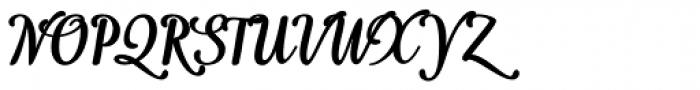 Idea Bold Font UPPERCASE
